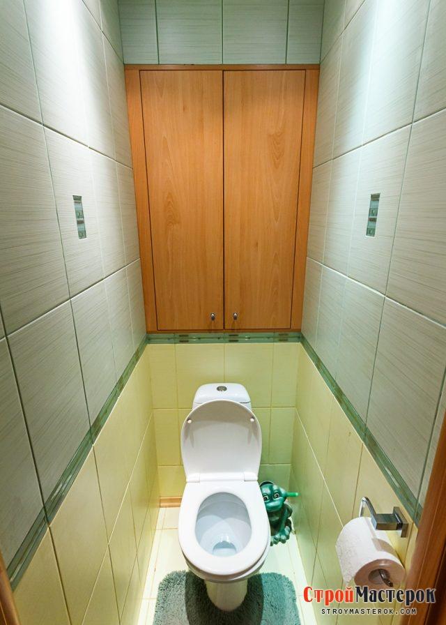 Ремонт сантехнического шкафа в туалете своими руками