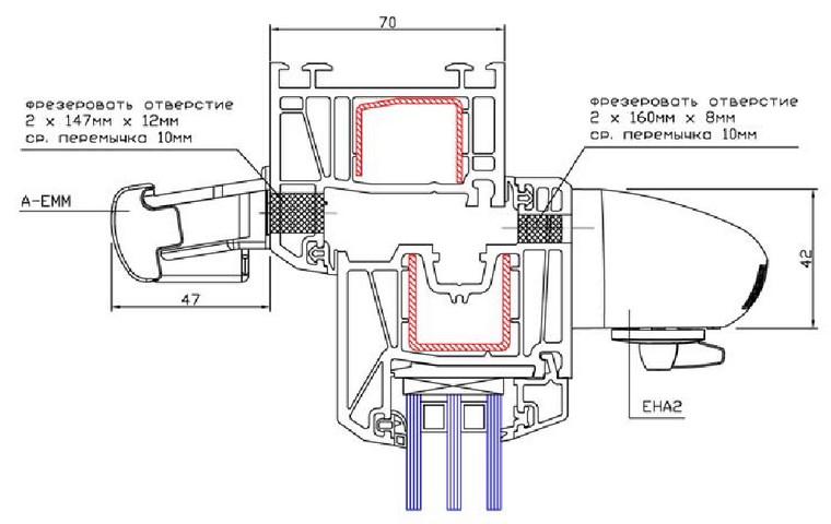 Установка приточного клапана на пластиковое окно своими руками