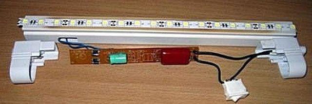 Бестрансформаторный блок питания светодиодной ленты