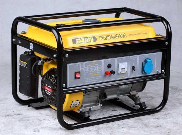 Генератор для дома и дачи с бензиновым двигателем